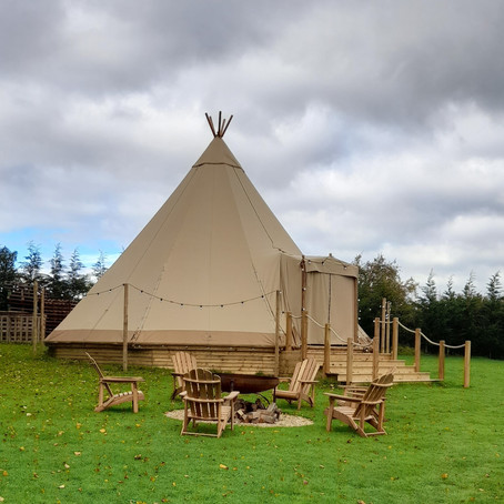 Tepee In Your Garden
