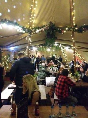 Christmas Tepee Pub