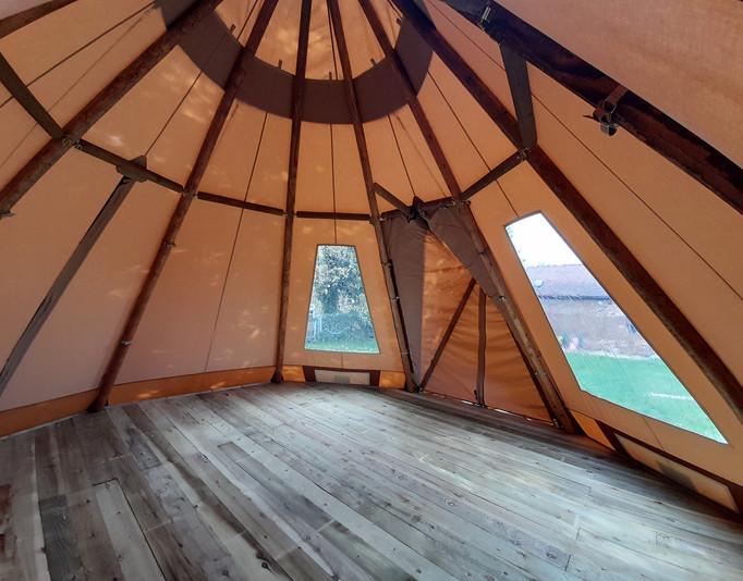 Tipi Interior