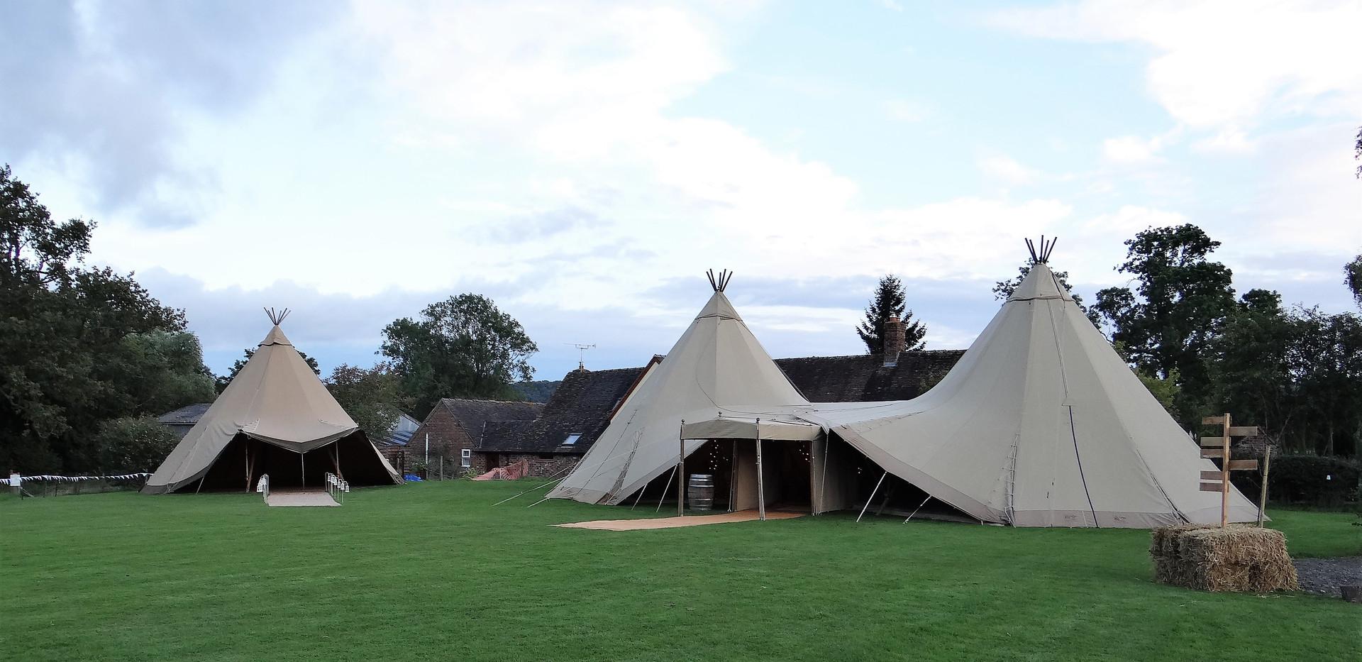 Seperate Dance Tent