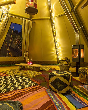 The Tipi Company - internal of Baby tipi