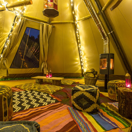 Inspiration of what to use your Garden Tepee For