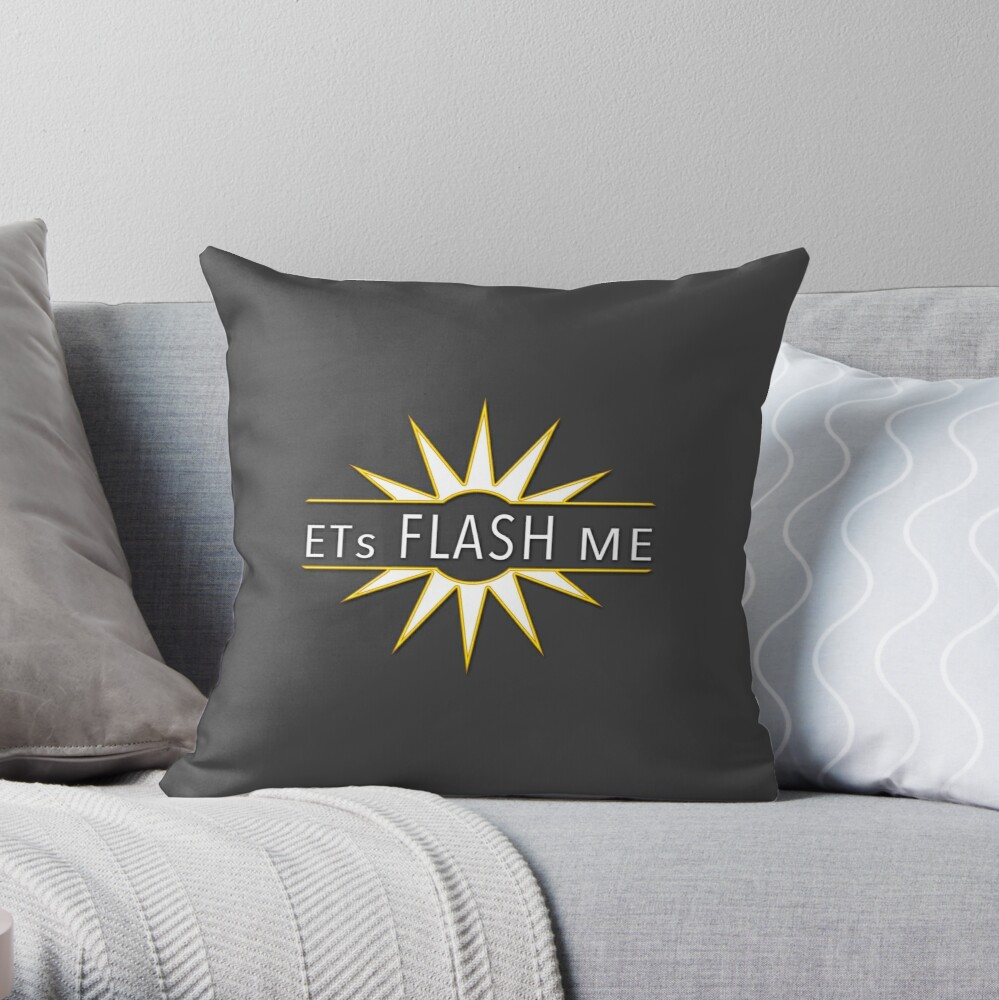 ETs Flash Me Pillow