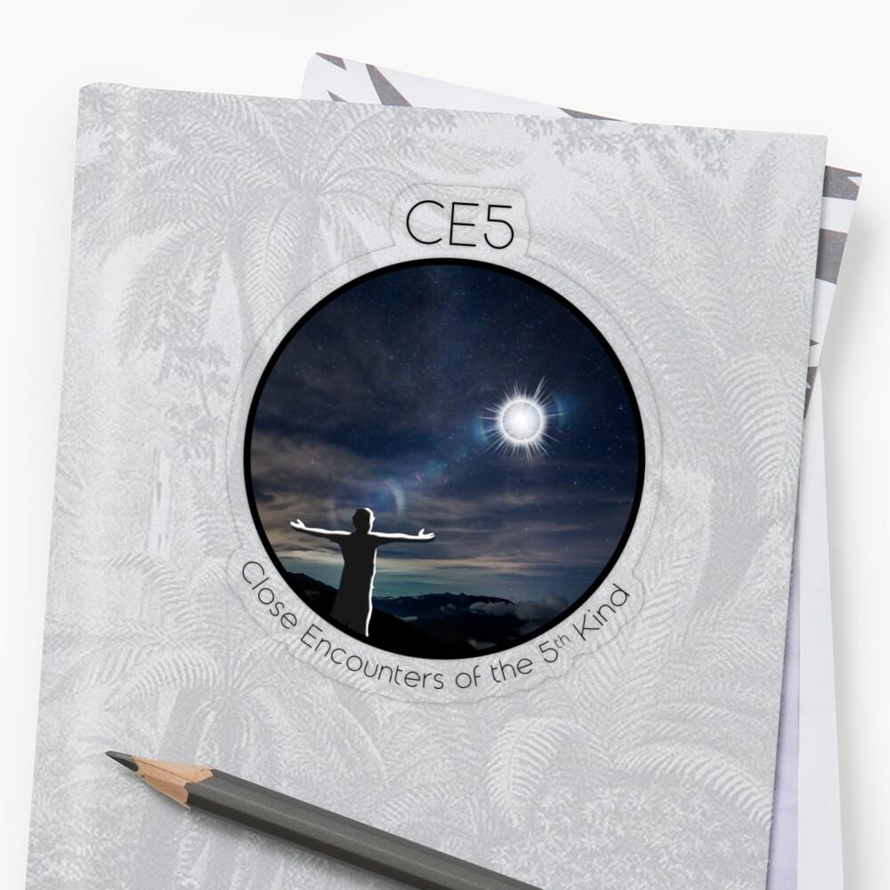 CE5 Circle Sticker