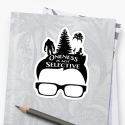 Glasses Oneness Sticker