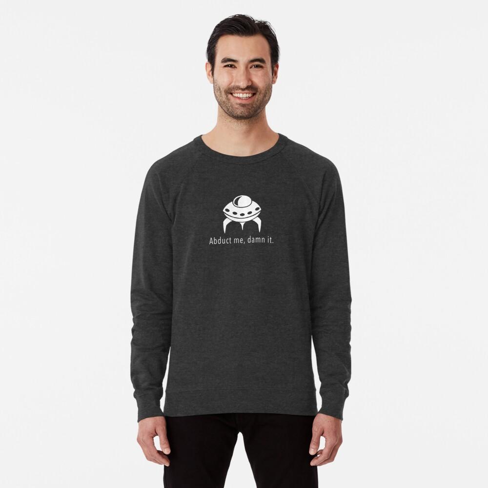 Abduct Me Lightweight Sweatshirt