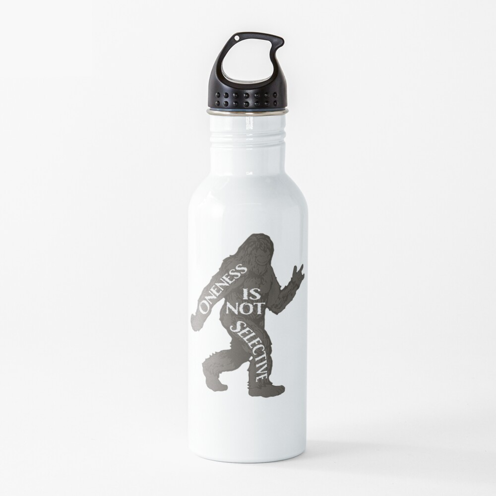 One With Sasquatch Water Bottle