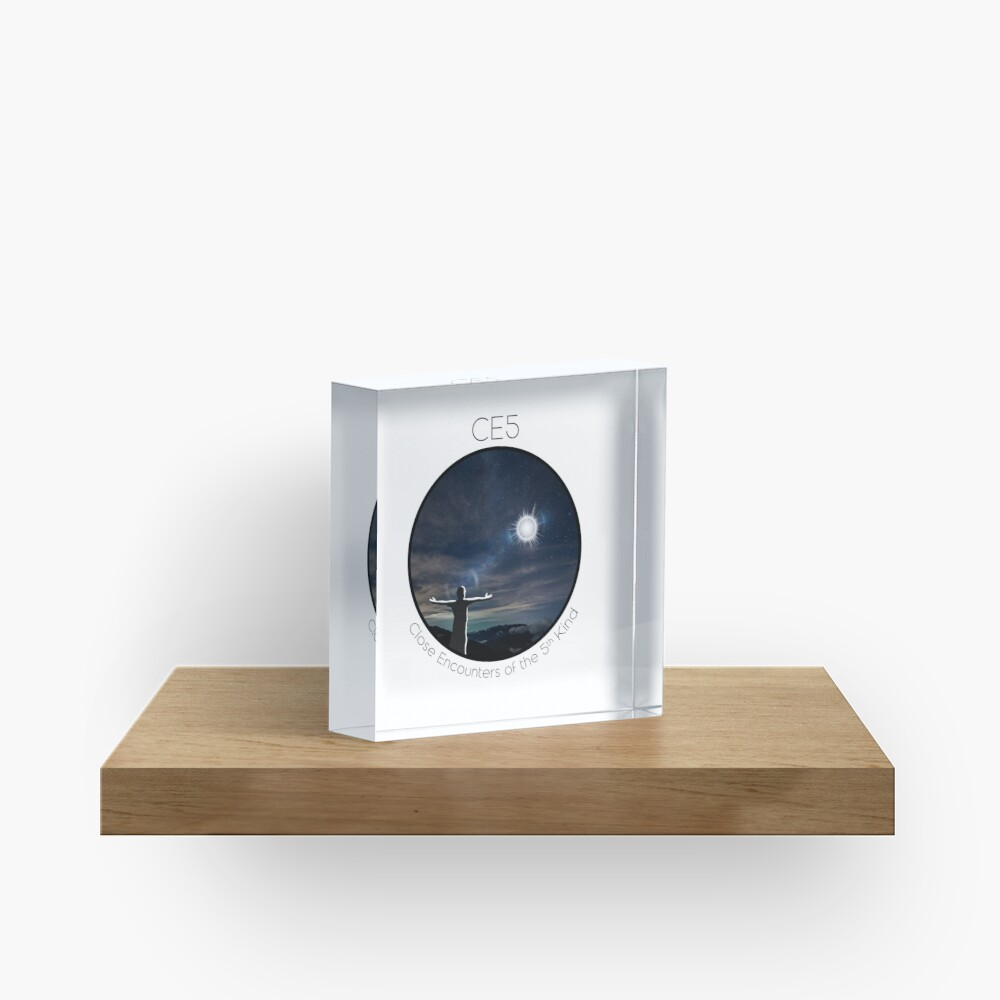 CE5 Circle Acrylic Block