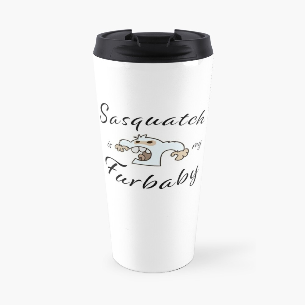 Sasquatch Furbaby Travel Mug