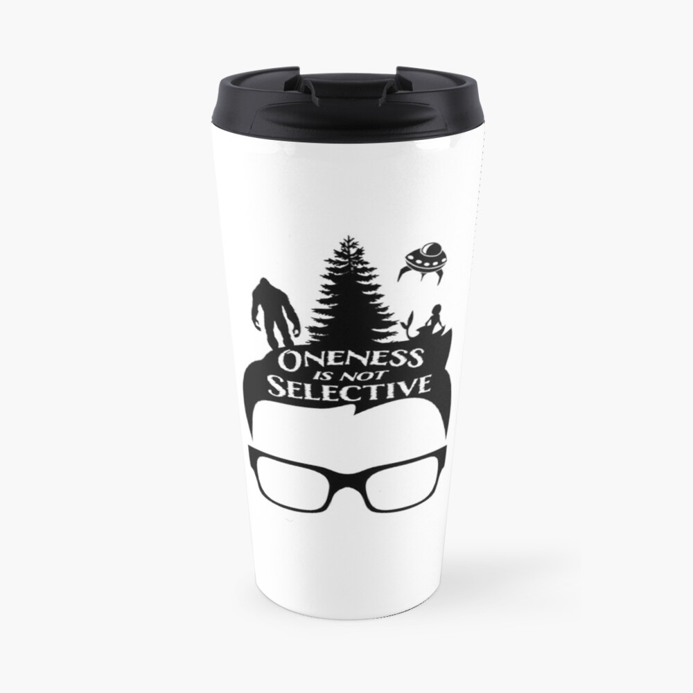 Glasses Oneness Travel Mug