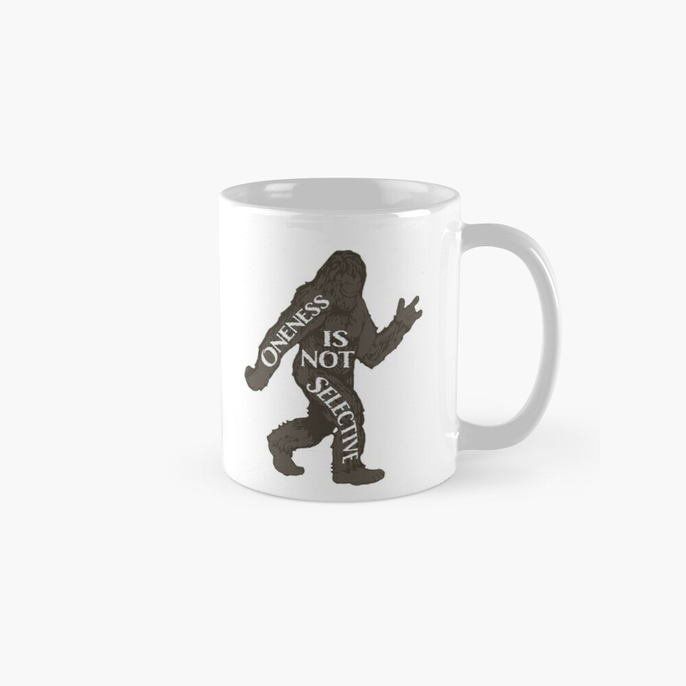 One With Sasquatch Mug