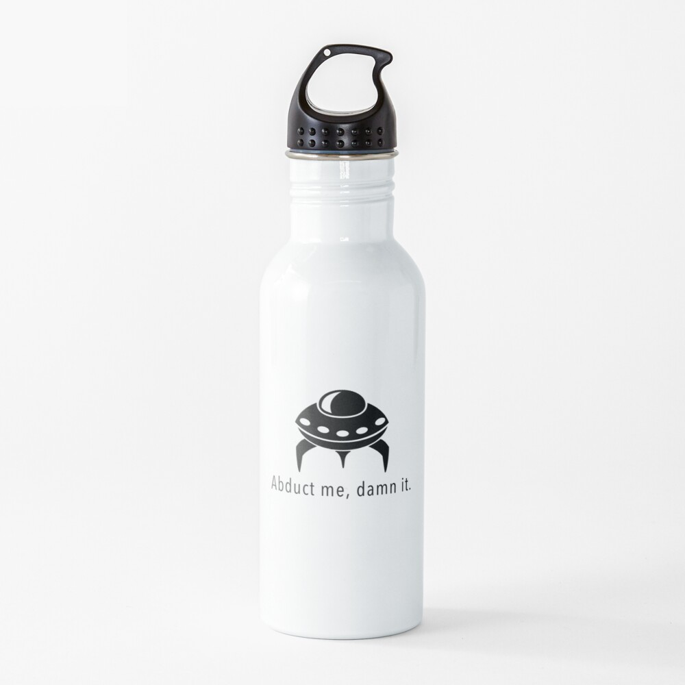 Abduct Me Water Bottle
