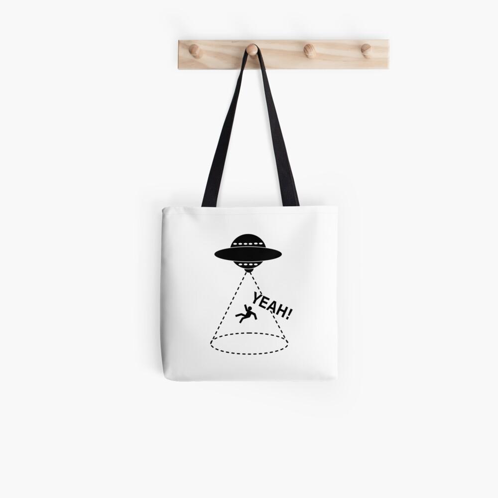 YEAH Spaceship Tote Bag