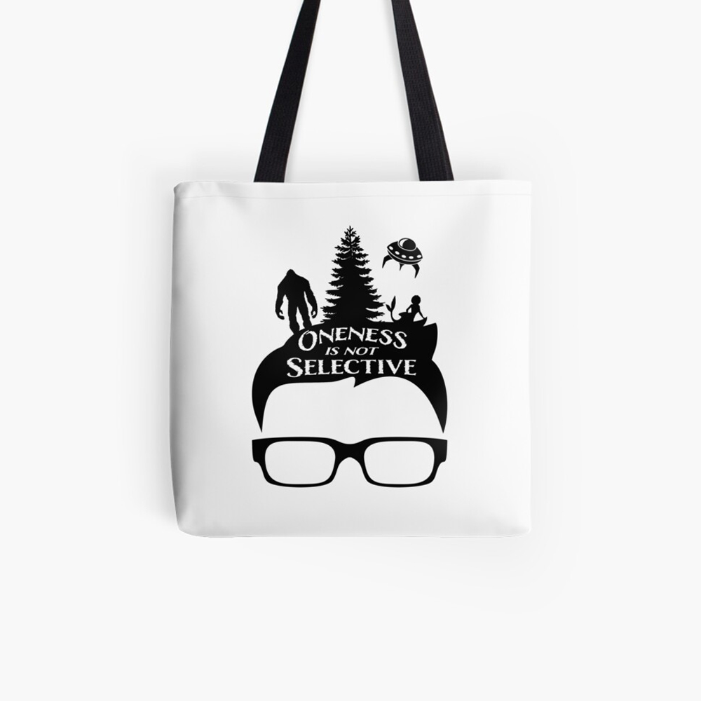 Glasses Oneness Tote Bag