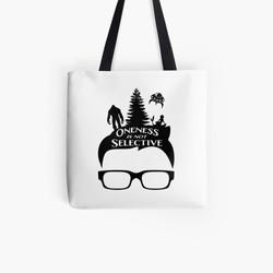 Glasses Oneness Tote Bag
