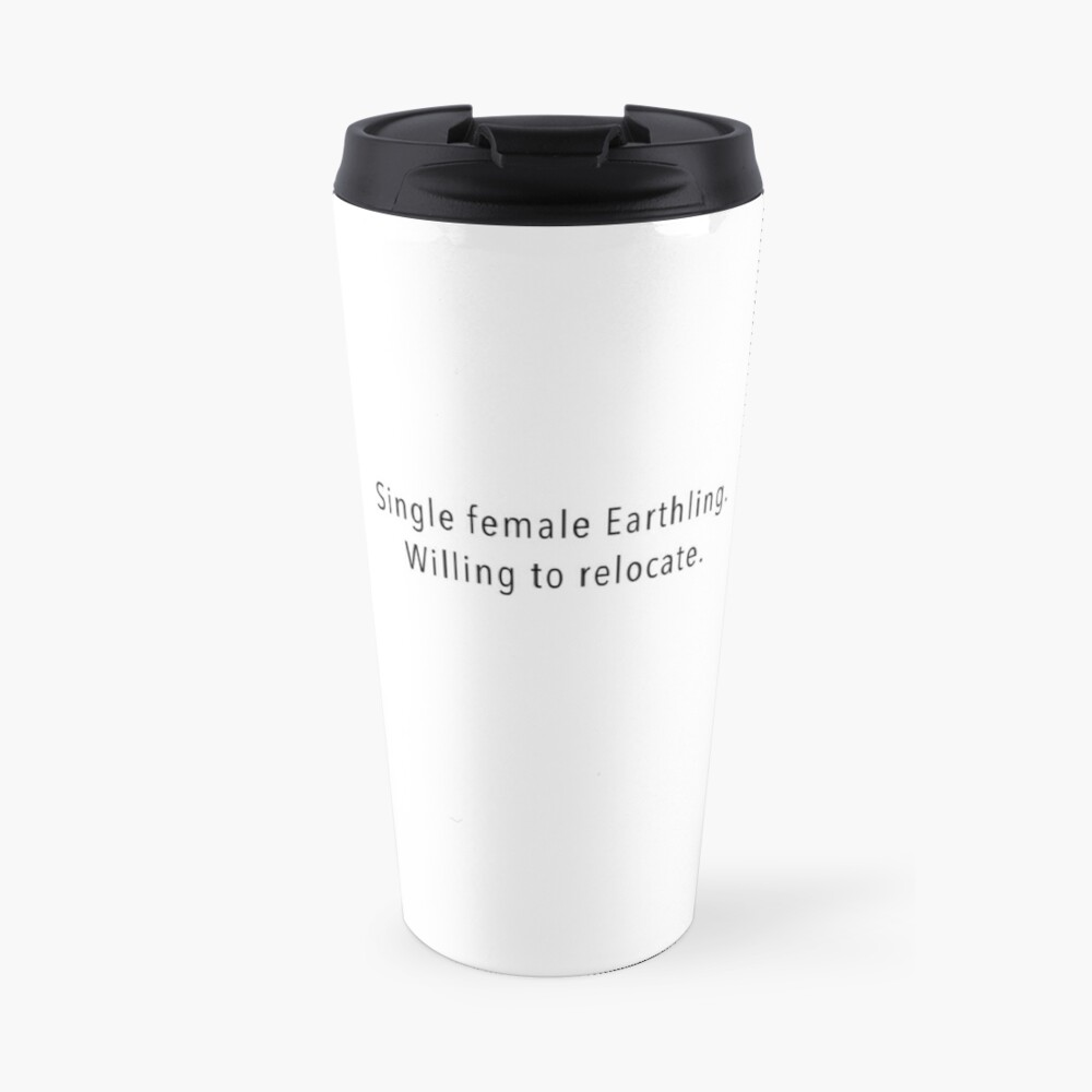 Single Female Travel Mug