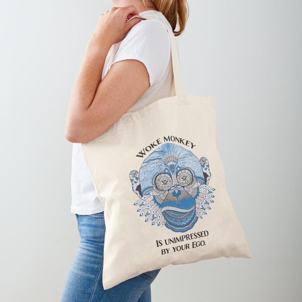 Woke Monkey Tote Bag