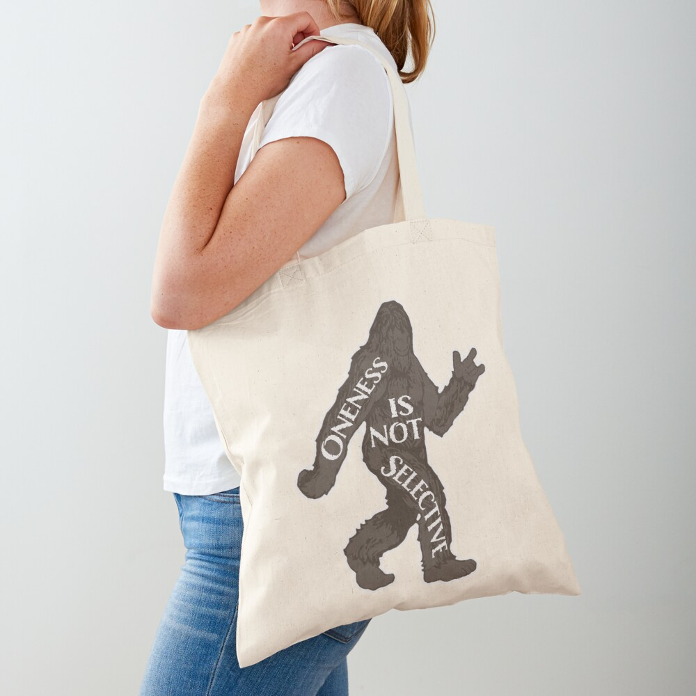 One With Sasquatch Tote