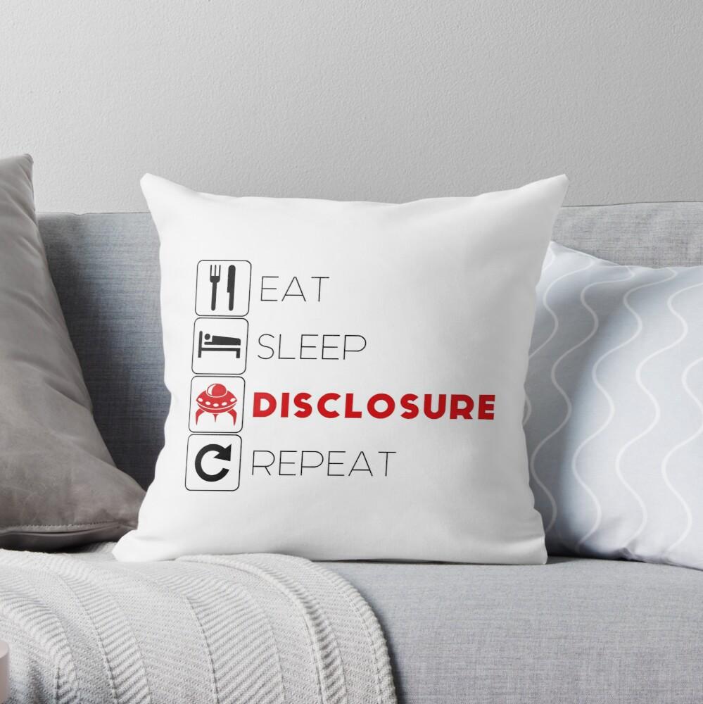 Eat, Sleep, Repeat Pillow