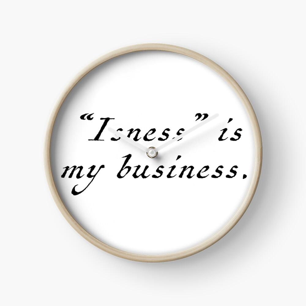 Isness Clock