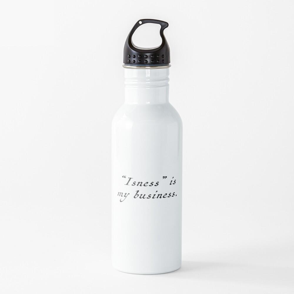 Isness Water Bottle