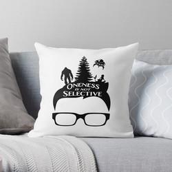Glasses Oneness Pillow