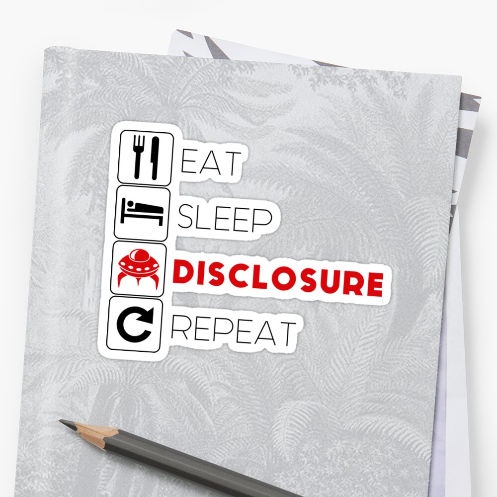 Eat, Sleep, Repeat Sticker