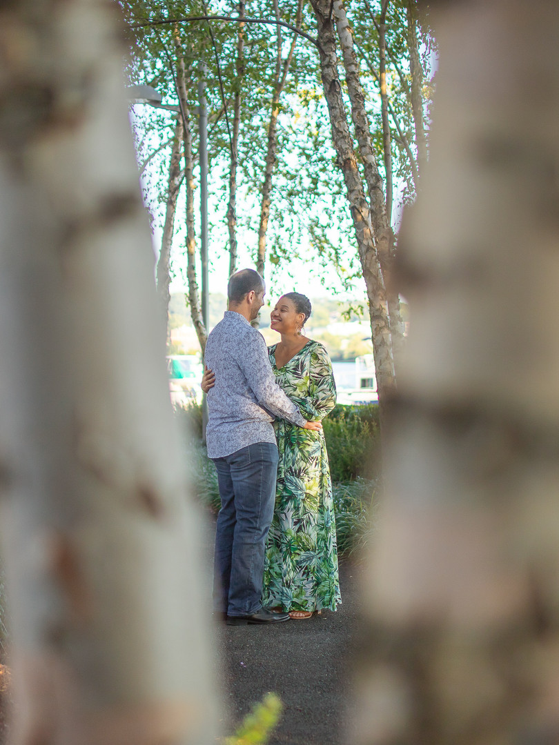 Engagement portrait session by fern.elise