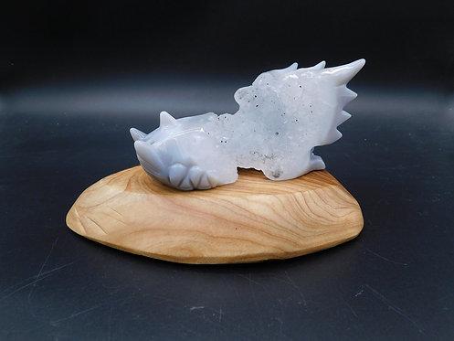 Crystal Dragon Skull