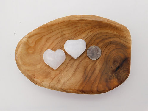 Selenite Heart (1.5 inches)