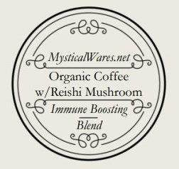 Organic Coffee w/Reishi Mushroom (6 Keurig cups)