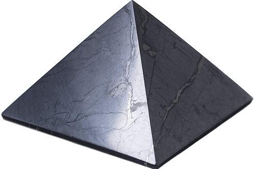 Shungite Polished Pyramid 1.2 inch