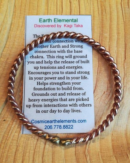 Earth Elemental Bracelet (bronze & copper)