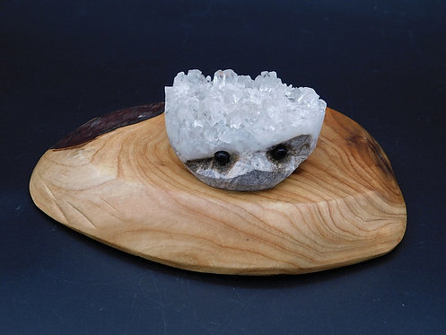 Crystal Cluster Hedgehog