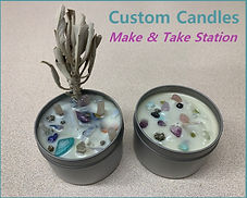 Customer made custom candles
