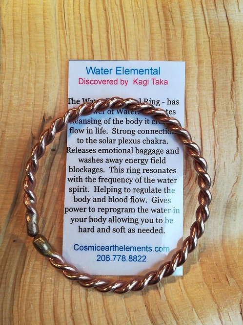 Water Elemental Bracelet (bronze & copper)