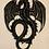Thumbnail: Shungite & Silver Powder Resin Dragon Totem (flat)