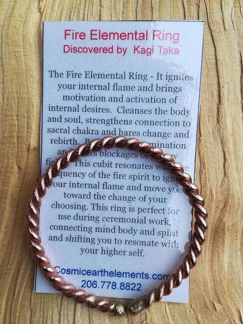 Fire Elemental Bracelet (bronze & copper)