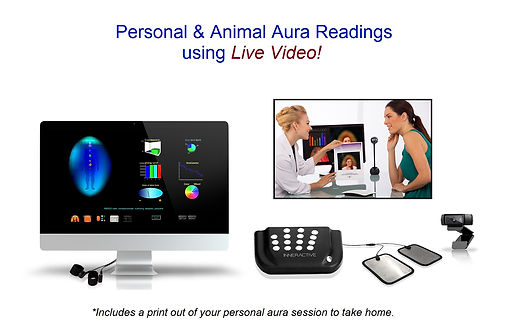 Live Video Aura Readings