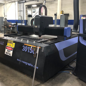 Expanded Capabilities – 1500W fiber laser system