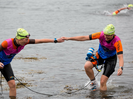 Heather's Choice Fuels Quest at Casco Bay SwimRun