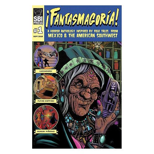 Fantasmagoria #1 by Eric Esquivel, James A. Fino, and Friends!