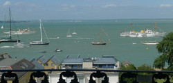 Fleet Review at Cowes