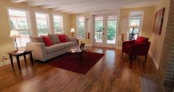 Gig Harbor Home Staging Living Room