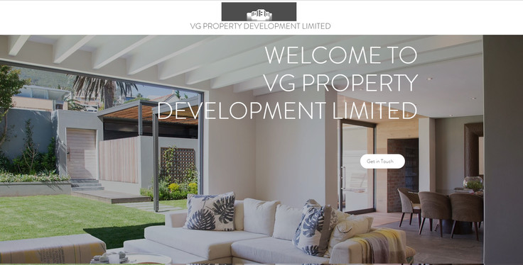 Web design for property developers Glasgow