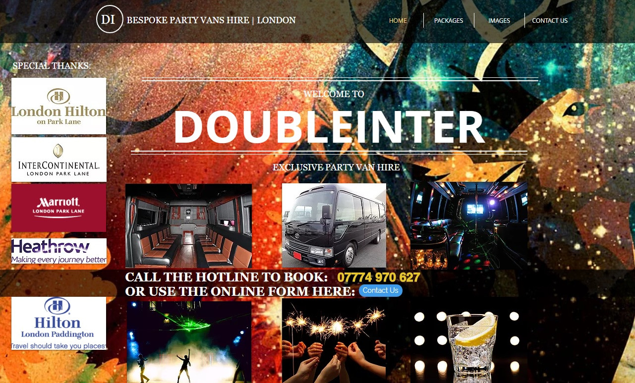 Web Design for Limo Business based in London