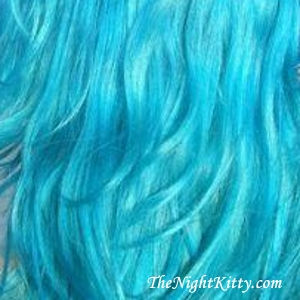 Sky Blue Hair Dye - The Night Kitty