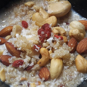 Nutty Breakfast Quinoa