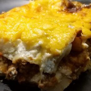 Keto-ish Lasagna