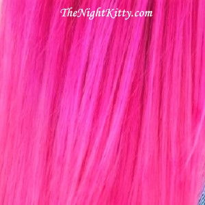 Pink Hair Dye - The Night Kitty